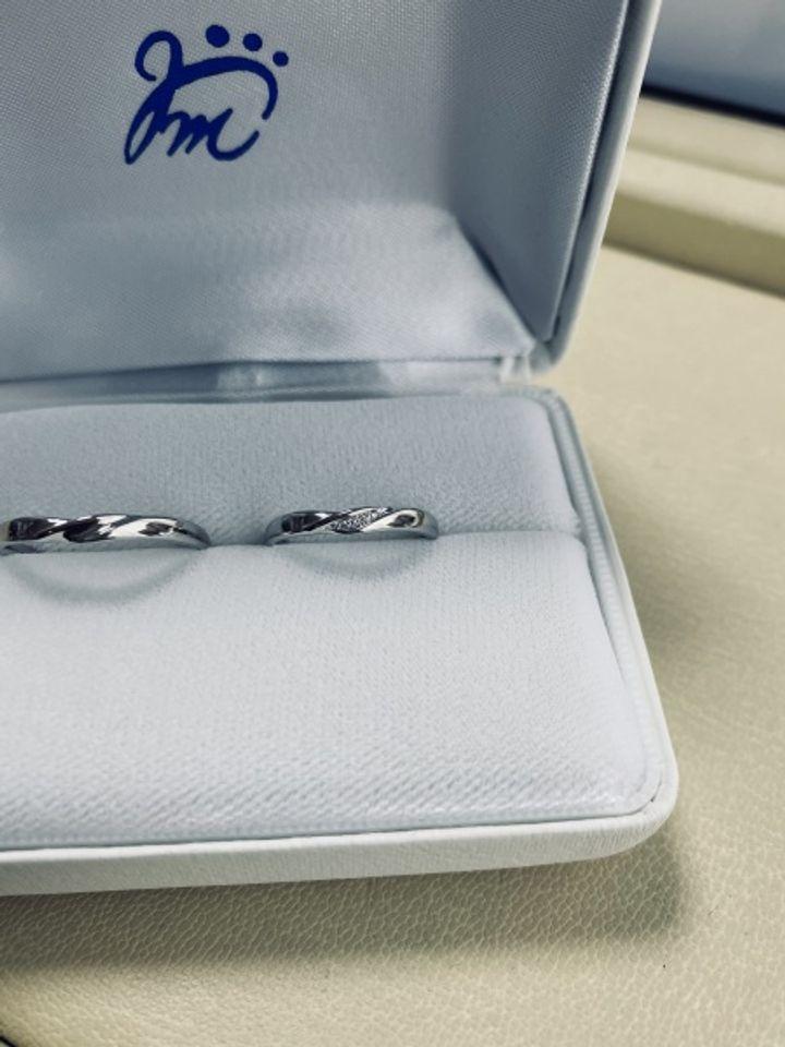 【ジュエリームナカタ(Jewelry MUNAKATA)の口コミ】 最初、お伺いさせていただいた際にたくさんのデザインをいただき、その中…