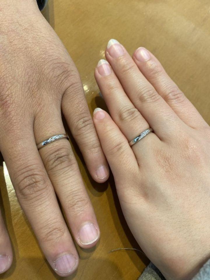 【TOWAIYOU(トワイユ)の口コミ】 ストレートのタイプとかなり迷いましたが、手が小さい私には指が長く見え…
