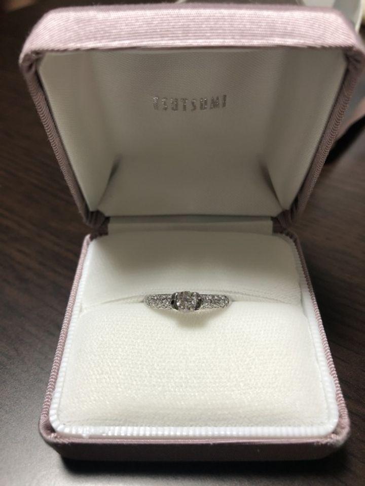 【ジュエリーツツミ(JEWELRY TSUTSUMI)の口コミ】 ダイヤモンドも質のいいものを使用しており、輝きが素敵で気に入りました…