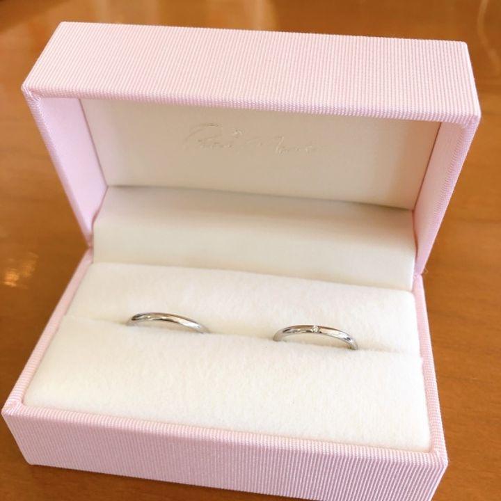 【Petit Marie(プチマリエ)の口コミ】 シンプルな指輪を探していたところ、プチマリエの細いデザインのリングが…