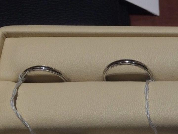 【ギンザタナカブライダル(GINZA TANAKA BRIDAL)の口コミ】 シンプルなデザインのものが多く、特に男性にはおすすめの指輪が多かった…