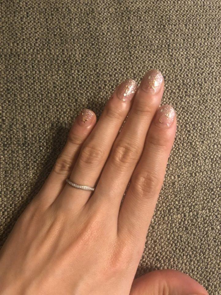 【カルティエ(Cartier)の口コミ】 ①ブランド、②指輪のデザイン、③旦那さまのリングと同じブランドでそろえた…