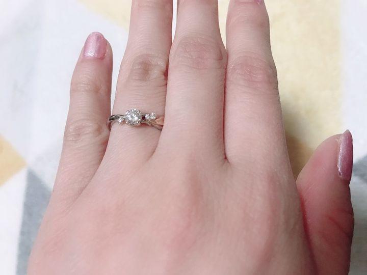 【雅-miyabi- の口コミ】 結婚式で和装をする予定がなかったため、指輪には和のデザインを入れたい…