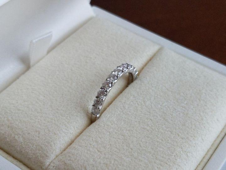 【TASAKI(タサキ)の口コミ】 婚約指輪にハーフエタニティリングが欲しくて色々なブランドのカタログを…