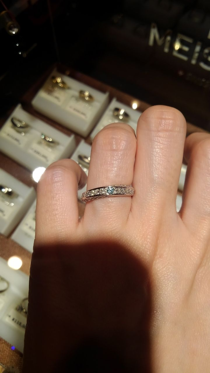 【PROPOSE(プロポーズ)の口コミ】 一生物の指輪に出会いました。婚約指輪にも見えるような指輪が欲しかった…