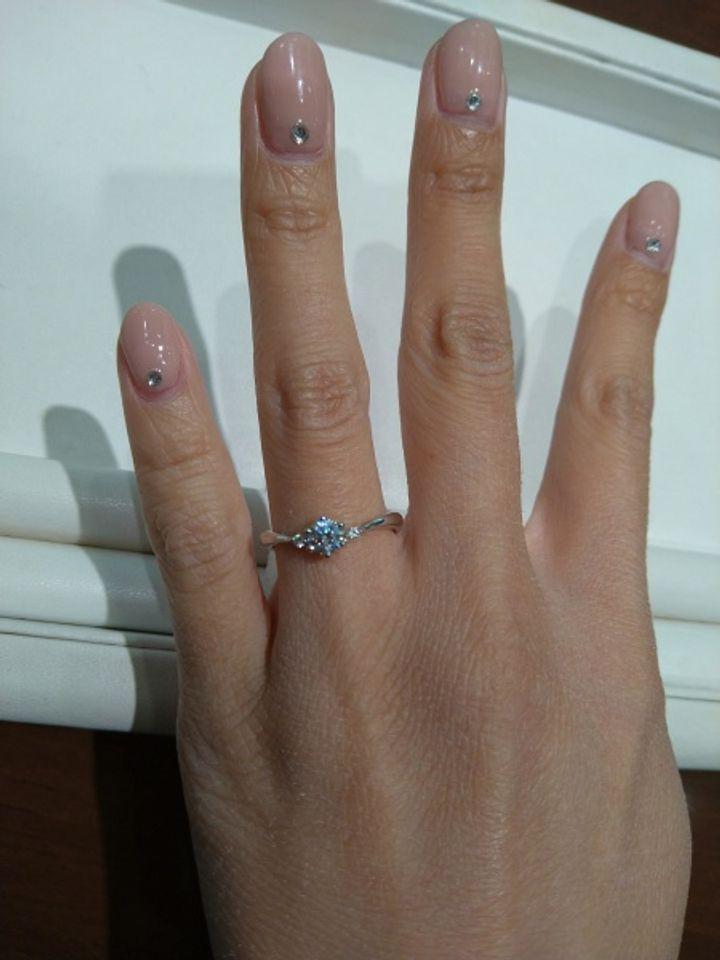 【COLANY(コラニー)の口コミ】 指輪のデザインがドンピシャでした!スタッフさんのアドバイスもとてもよ…