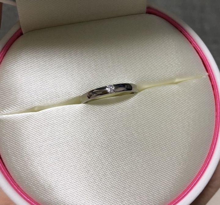 【COCKTAIL(カクテル)の口コミ】 一石の大きいダイヤに一目惚れでした。他にも似たデザインのブランドもあ…