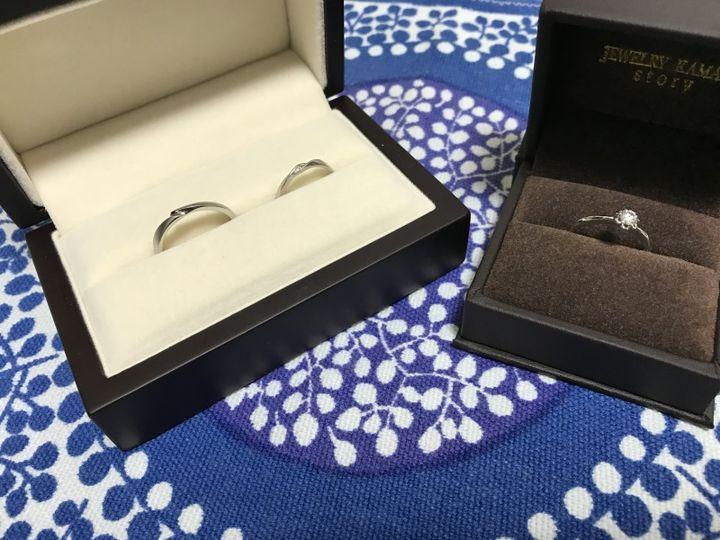 【JEWELRY  KAMATA(ジュエリーかまた)の口コミ】 結婚指輪は仕事や家事・育児に支障がないようにシンプルなものにしました…