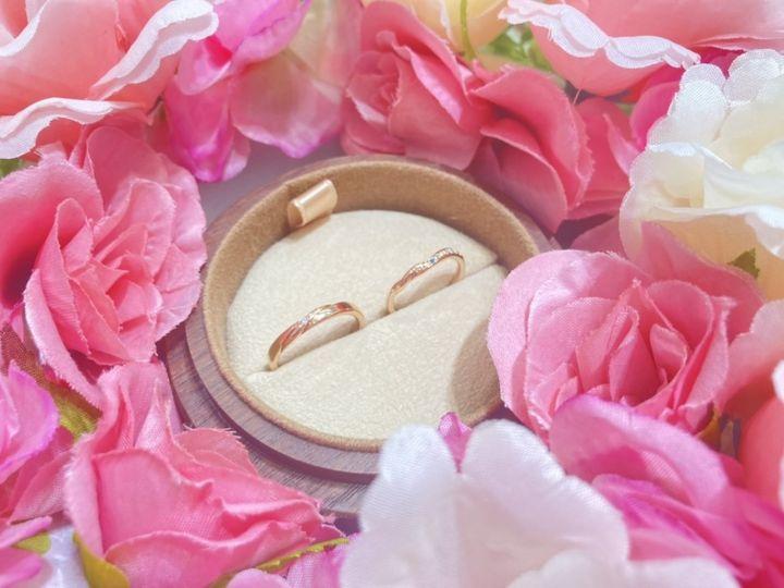 【COLANY(コラニー)の口コミ】 一般的なシルバーの指輪ではなくピンクゴールドの指輪にしました。いやら…