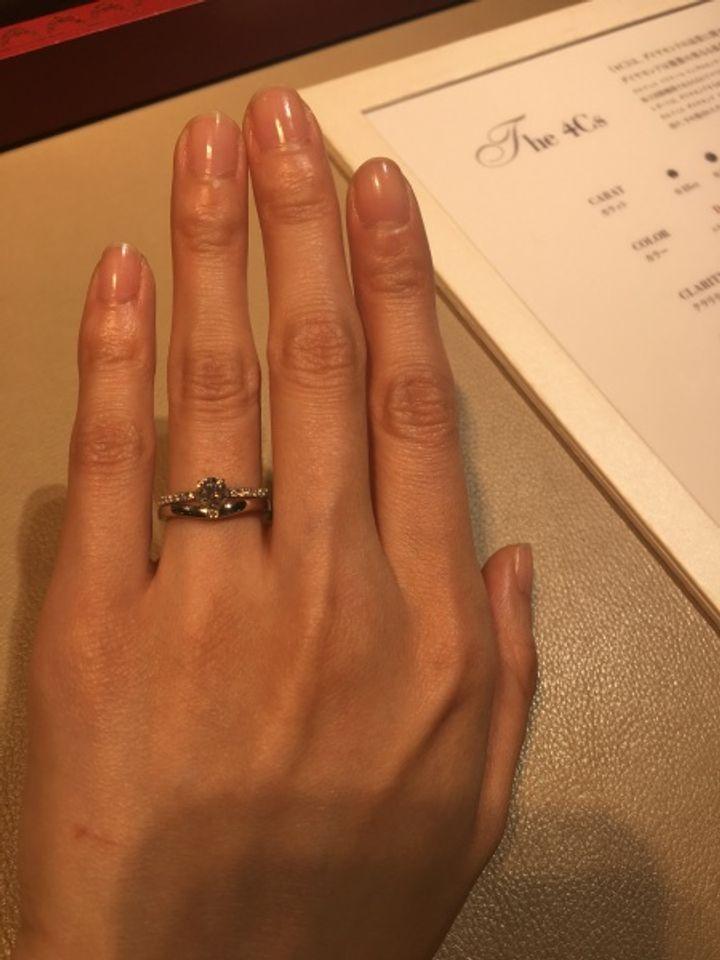 【カルティエ(Cartier)の口コミ】 華奢なデザインがとっても可愛いです! カルティエ のバレリーナの婚約指…