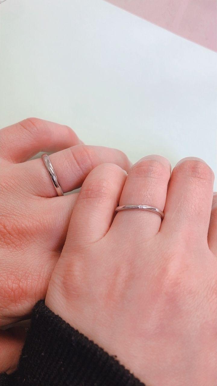 【Princess Bijou(プリンセス・ビジュー)の口コミ】 店内には沢山の指輪があり、どれも可愛くてこれも、これもってなってまし…