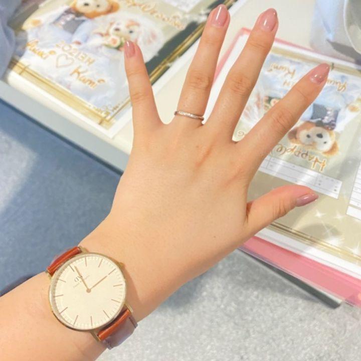 【Princess Bijou(プリンセス・ビジュー)の口コミ】 デザインが1番気に入った。たくさん指輪が見れて色んな種類を試せる中でこ…