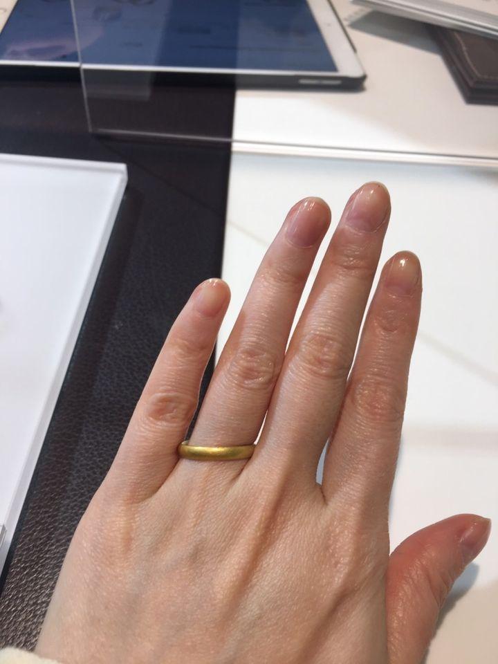 【NIESSING(ニーシング)の口コミ】 純金と純銀が混ぜ合わされて作られています。 鍛造の技術が高いので、もの…