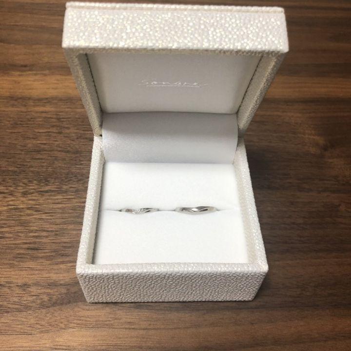 【SONARE(ソナーレ)の口コミ】 指輪の決め手はデザインです。少しウェーブかかったデザインが良かったの…