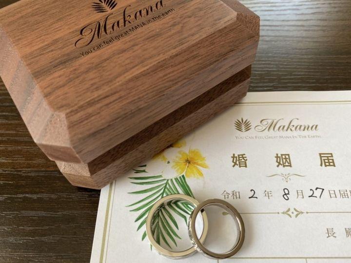 【Makana(マカナ)の口コミ】 ハワイアンジュエリーにずっと憧れがありました。リングの彫もすごくきれ…