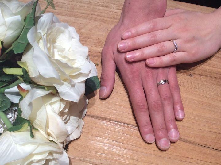 【AFFLUX(アフラックス)の口コミ】 誰とも被らないたった一つの指輪にしたく、フルオーダーメイドが可能なAFF…