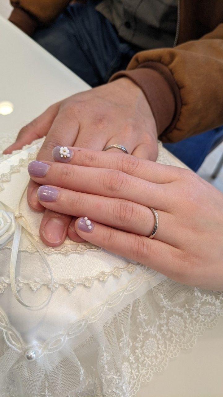 【COLANY(コラニー)の口コミ】 まず、ウェーブのラインで絞りました。そのなかでも選んだ指輪はダイヤが…