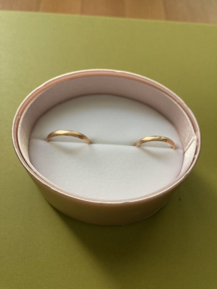 【insembre(インセンブレ)の口コミ】 結婚指輪の条件は、価格がなるべく安く、婚約指輪と重ね付けした時に可愛…