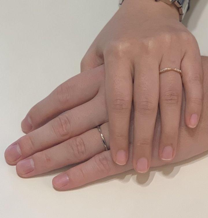 【シャネル(CHANEL)の口コミ】 普段からゴールドアクセサリーしか着用していなかったので、結婚指輪は絶…