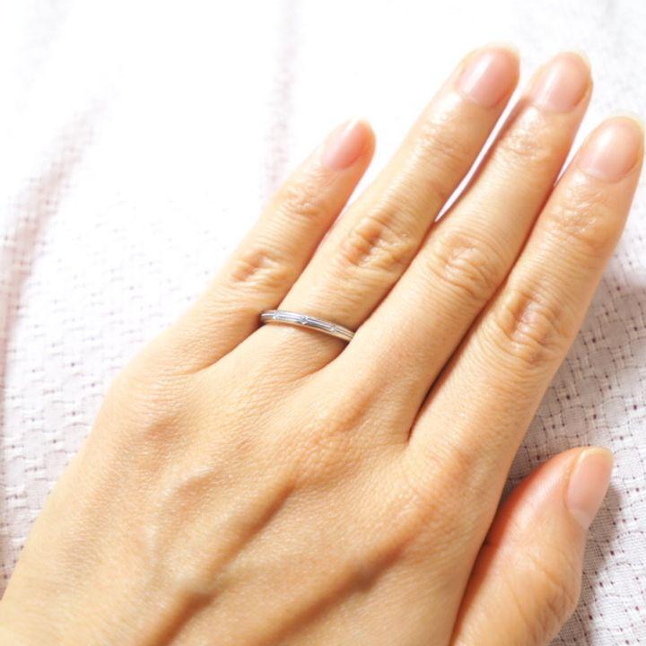 【CHRISTIAN BAUER(クリスチャンバウアー)の口コミ】 結婚指輪はつけっぱなしにしたかったので丈夫なものを、そしてシンプルす…