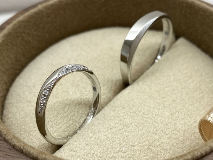 【COLANY(コラニー)の口コミ】 何種類かで迷いましたが、婚約指輪を探している時から今回の指輪が素敵だ…