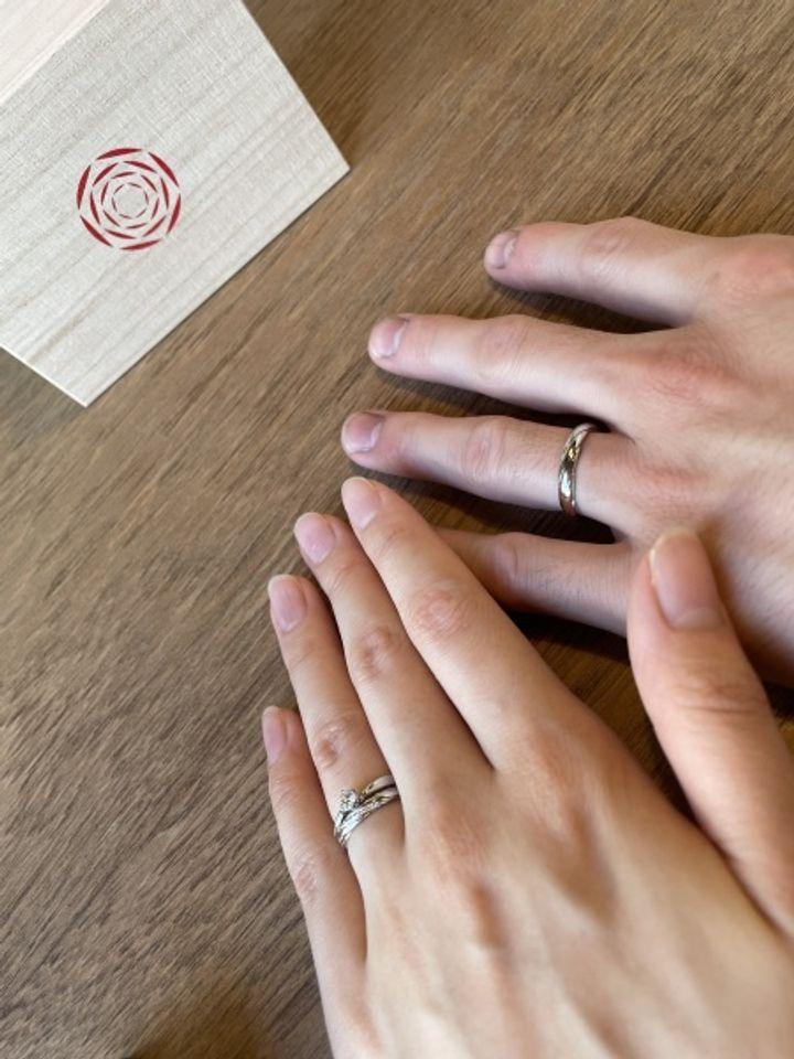 【出雲結(いずもゆい)の口コミ】 私が身につけたい指輪のデザインはある程度決まっていたのですぐにこれだ…