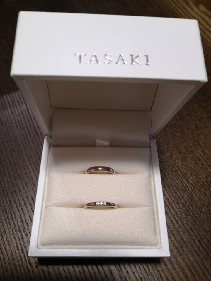 【TASAKI(タサキ)の口コミ】 肌なじみのいい色で指輪を探していていろんな店舗をまわりました。サクラ…