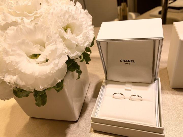 【シャネル(CHANEL)の口コミ】 結婚指輪は憧れのブランドで買うのが夢でした。婚約指輪にカルティエのエ…