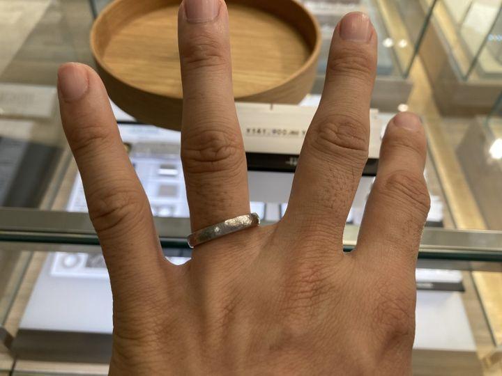 【FISCHER(フィッシャー)の口コミ】 映画のロードオブザリングで使われた指輪の製作に携わっていたとのことで…