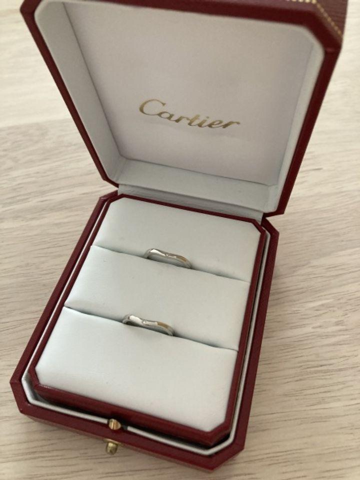 【カルティエ(Cartier)の口コミ】  長く飽きずに使えるよう、1つの指輪で2通り楽しめるデザインの指輪を…