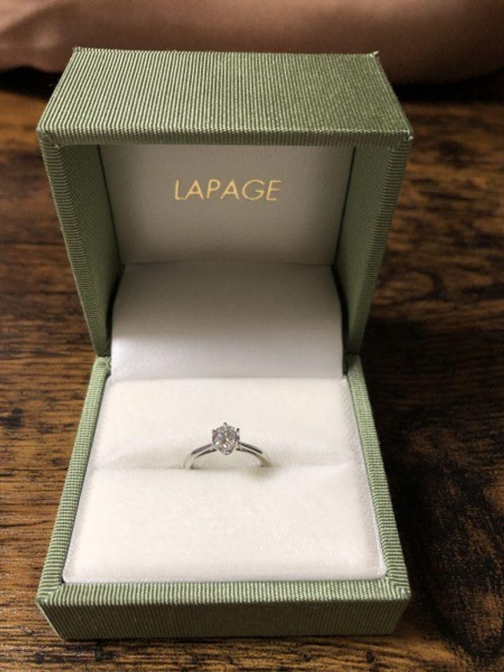 【LAPAGE(ラパージュ)の口コミ】 お店の中の他のブランドも含めて全ての指輪を見たり、試着しましたが、今…