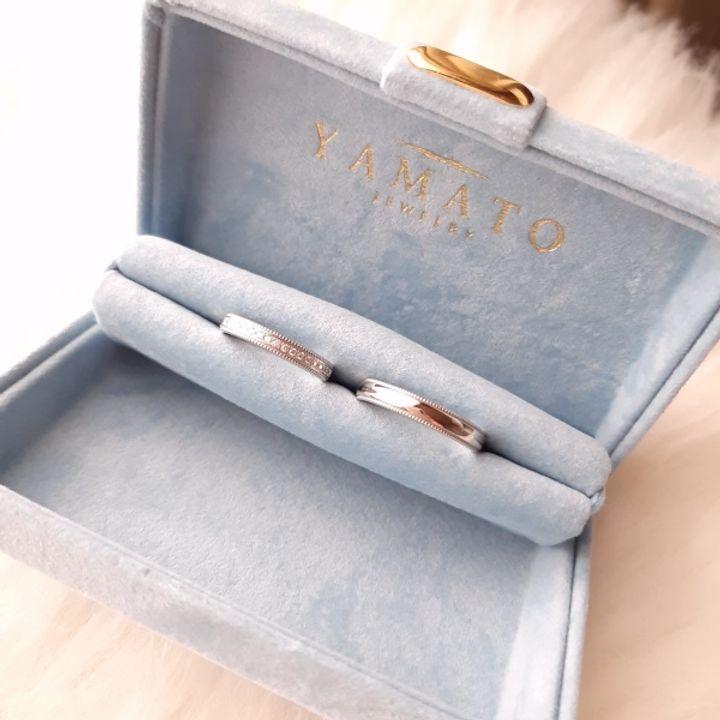【PILOT BRIDAL(パイロットブライダル)の口コミ】 金属アレルギーの為、素材が安心な指輪を探していました。お店の方に素材…