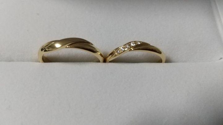 【ギンザタナカブライダル(GINZA TANAKA BRIDAL)の口コミ】 ゴールドの指輪がほしかったので、田中貴金属の銀座TANAKAさんで購入する…