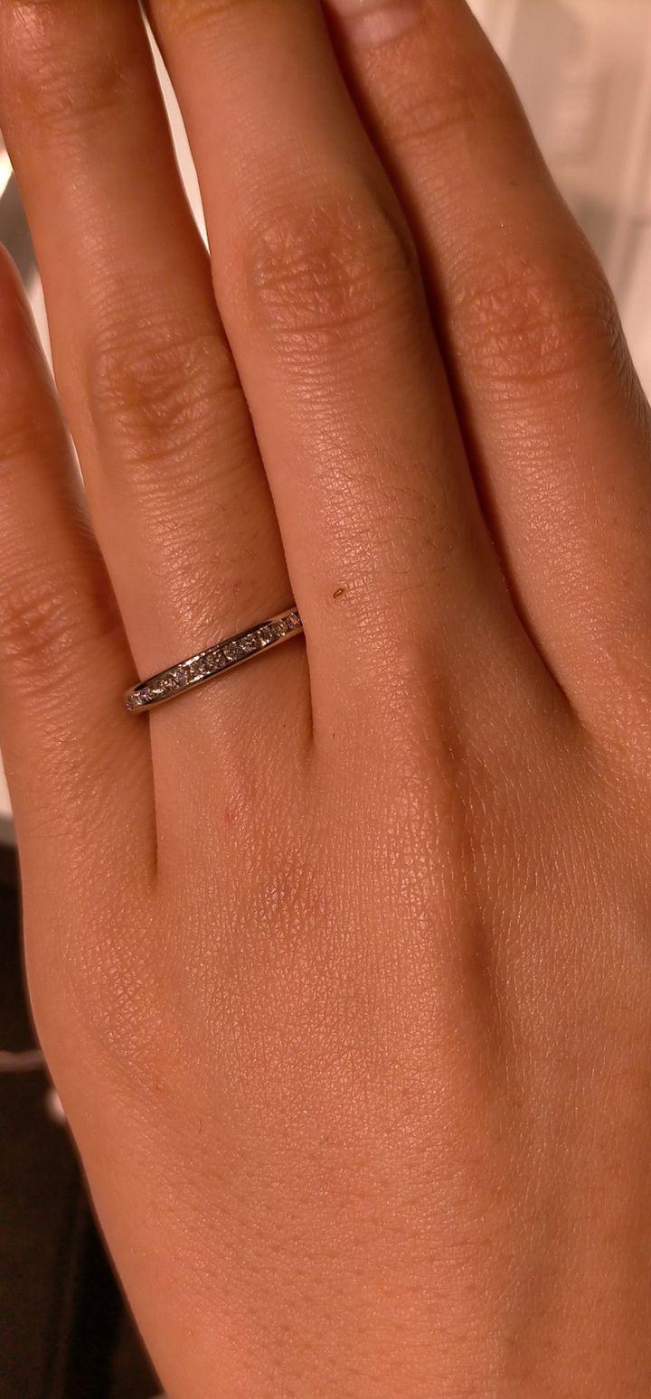 【カルティエ(Cartier)の口コミ】 ダイヤのカッティングの素晴らしさと、リングのデザインの美しさは国際的…