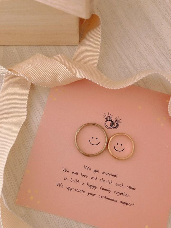 【YUKA HOJO jewelryの口コミ】 素材も、つけた感じも凄くお気に入りの指輪が完成しました! 旦那さんが指…