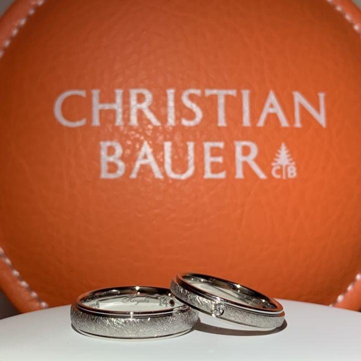 【CHRISTIAN BAUER(クリスチャンバウアー)の口コミ】 幅が少し広いリングを探していたところ、クリスチャンバウアーというメー…