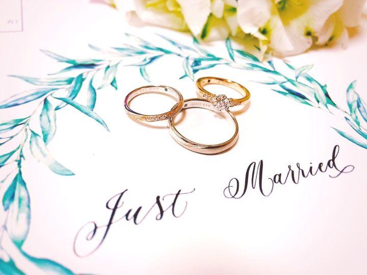 【Love Bond(ラブボンド)の口コミ】 デザインの可愛さと、結婚指輪と婚約指輪を一緒につけても違和感のない組…