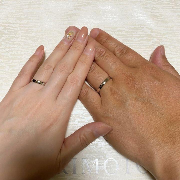【MIKIMOTO(ミキモト)の口コミ】 とにかく付け心地が良いです。日本人の指に合うように作られているという…