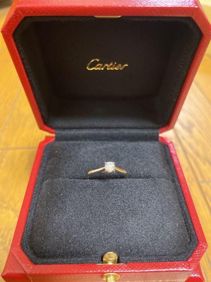 【カルティエ(Cartier)の口コミ】 カルティエのブランドと歴史に魅力を感じたから。 購入したエンゲージリン…