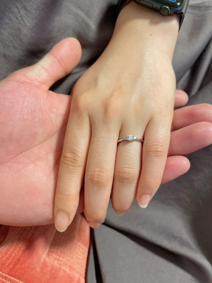 【KITAGAWA(キタガワ)の口コミ】 とにかくデザインが可愛いかったことが購入の決め手です。たくさんの指輪…