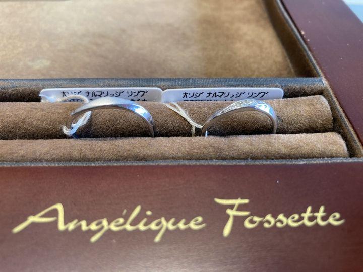 【アンジェリックフォセッテ(Angelique Fossette)の口コミ】 いくつか他のブランドさんのデザインをみてこんな感じが良いなとイメージ…
