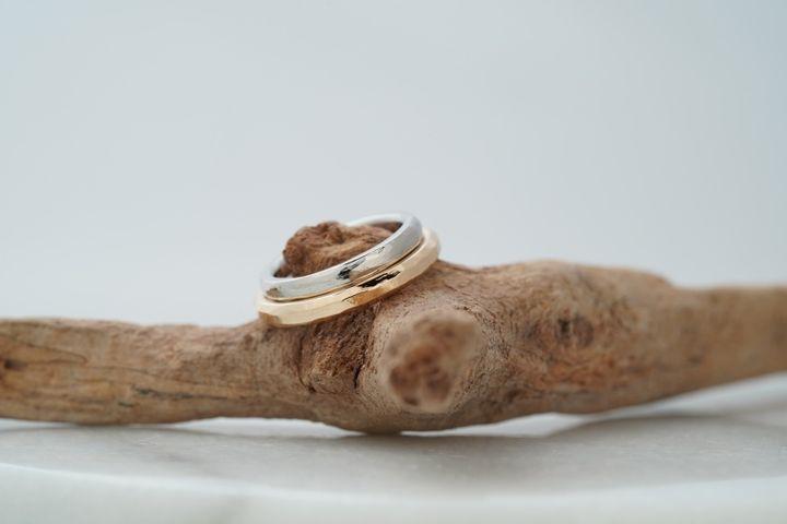 【THREE TREES(スリーツリーズ)の口コミ】 結婚指輪は一生涯身につけるものだから、2人で作った世界で一つだけの指輪…