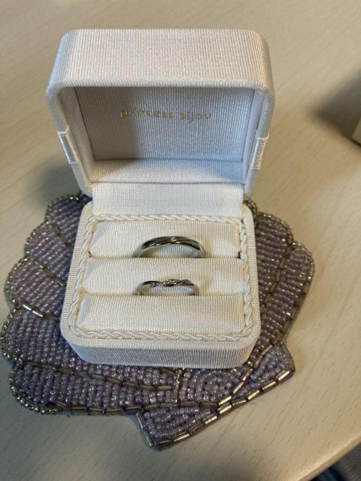 【Princess Bijou(プリンセス・ビジュー)の口コミ】 1番のきっかけは、アニエルが大好きな彼女が婚約指輪をプリンセスビジュー…