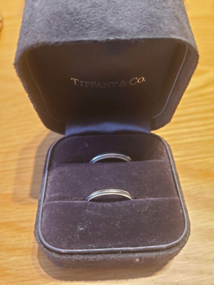 【ティファニー(Tiffany & Co.)の口コミ】 昔からあるデザインで私たちの親世代?くらいの店員さんも結婚指輪として…
