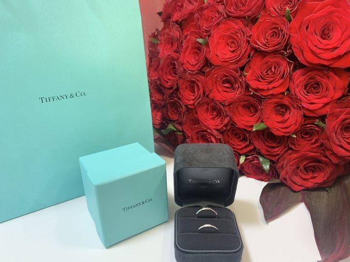 【ティファニー(Tiffany & Co.)の口コミ】 結婚指輪は仕事中でもつけていたかったので派手すぎないシンプルな物が良…