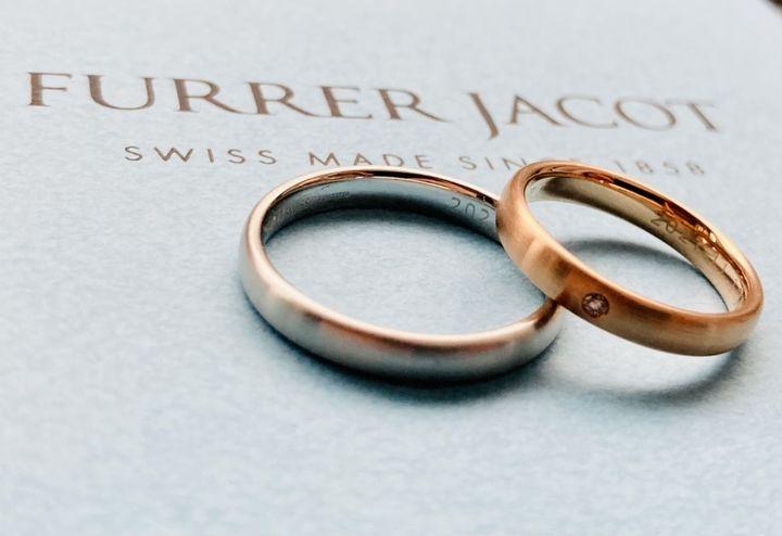 【フラー・ジャコー(FURRER-JACOT)の口コミ】 結婚指輪は常に着けていたいので、 私服にもスーツにも合うような シンプ…