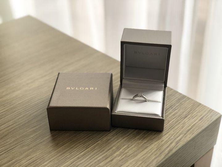 【ブルガリ(BVLGARI)の口コミ】 私の好みと主人の好みが重なり、こちらの指輪を購入しました。 私はシンプ…