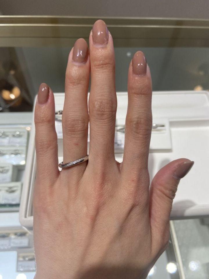 【festaria bijou SOPHIA(フェスタリア ビジュソフィア)の口コミ】 ダイヤモンドがたくさん散りばめられたゴージャスな雰囲気が好みで、どの…