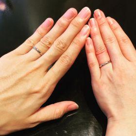 【ケイウノ ブライダル(K.UNO BRIDAL)の口コミ】 指輪の種類が豊富で、同じような指輪の中でも、形や太さなどが違う物も沢…
