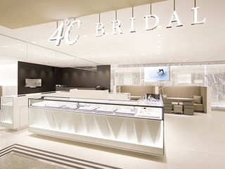 【専門店】4℃(ヨンドシー)ブライダル 姫路山陽百貨店